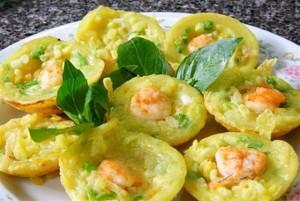 Món ăn tại khu vực ẩm thực Tuần Châu
