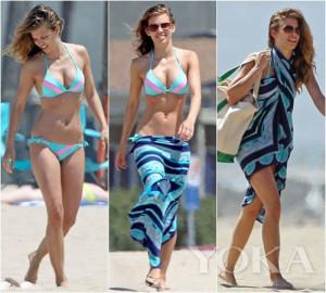 Tắm biển Cát Bà chớ quên bikini đi biển sau