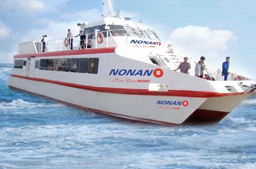 Thuê thuyền du lịch Cát Bà
