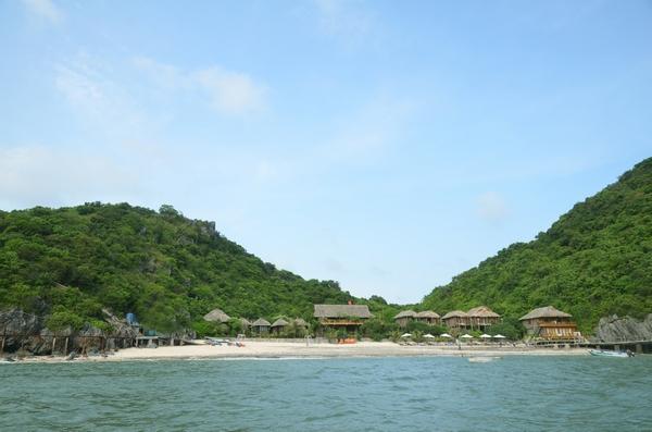Vẻ đẹp thiên nhiên thoáng mát tại khu nghỉ dưỡng Monkey Island Resort