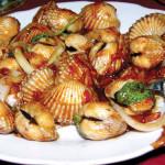 Món ngon được chế biến từ sò huyết Cát Bà