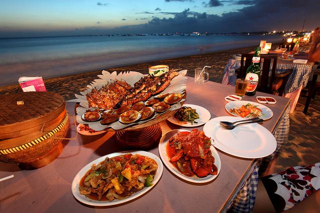 Bữa tối trên biển