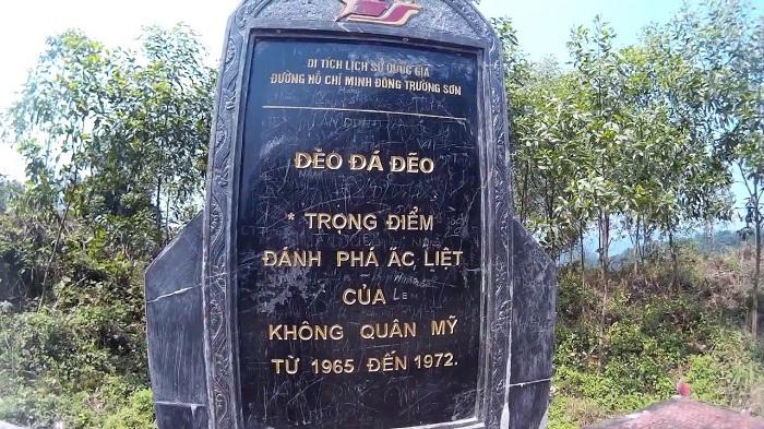 Đèo Đá Đẽo di tích lịch sử nổi tiếng Quảng Bình