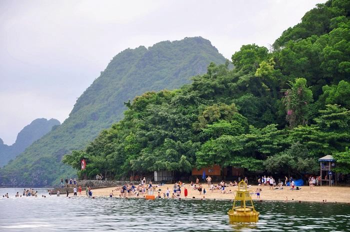 Đảo Titop đã trở thành điểm du lịch hấp dẫn tại Hạ Long