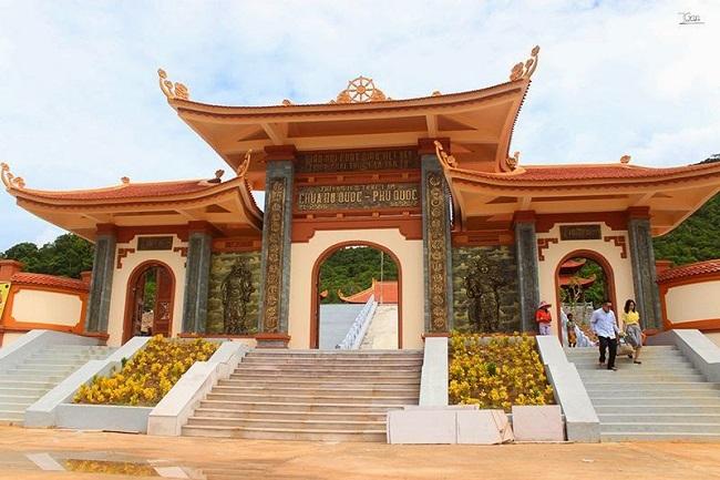 Không khí trang nghiêm thiền viện Trúc Lâm Hộ Quốc